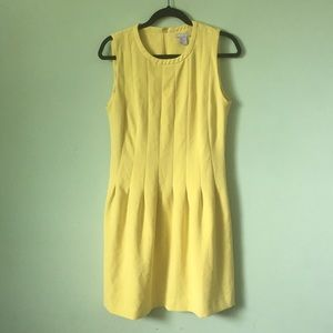 H&M yellow dress size 12 NWOT